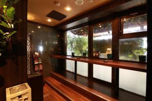 The lobby or reception area at Hotel Balian Resort Shinjuku Island (Adult Only)