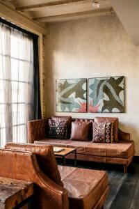 A seating area at Aparthotel Arai 4* Superior