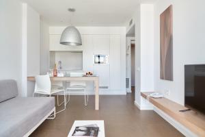 Zona de estar de Ibiza Sun Apartments