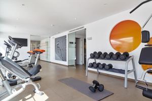 Gimnasio o instalaciones de fitness de Ibiza Sun Apartments