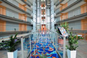 The swimming pool at or near Eurohotel Barcelona Granvia Fira