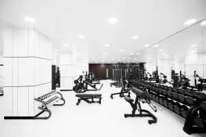 The fitness center and/or fitness facilities at Radisson Collection Hotel Moscow