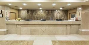 منطقة الاستقبال أو اللوبي في فندق زورلو غراند ترابزون