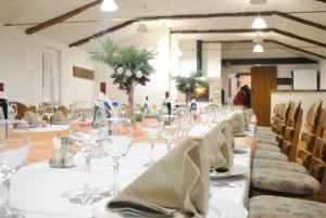 Restaurant ou autre lieu de restauration dans l'établissement Country House Marića Gaj