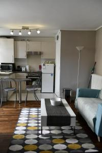 A kitchen or kitchenette at Studio Saint Louis