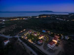 Άποψη από ψηλά του Kotroni Villas