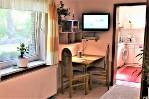 TV/Unterhaltungsangebot in der Unterkunft Ferienhaus Reher