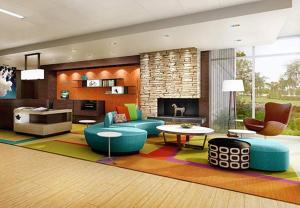 Лаундж или бар в Fairfield Inn & Suites by Marriott Moncton
