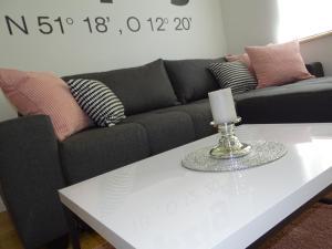 Ein Sitzbereich in der Unterkunft Gorki42