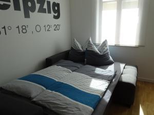 Ein Bett oder Betten in einem Zimmer der Unterkunft Gorki42