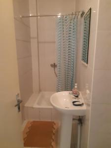 A bathroom at Rugelis