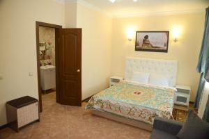 Кровать или кровати в номере Sheremetievo-Transit Hotel