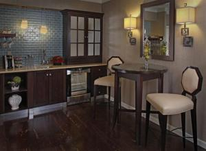 A kitchen or kitchenette at The Inn At Fox Hollow Hotel