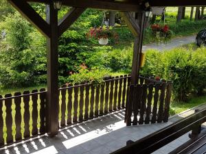 Balkón nebo terasa v ubytování House Petra