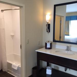 A bathroom at Hampton Inn & Suites Stroudsburg Bartonsville Poconos