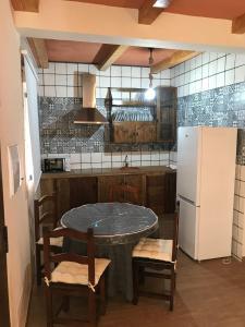 Küche/Küchenzeile in der Unterkunft El Rancho
