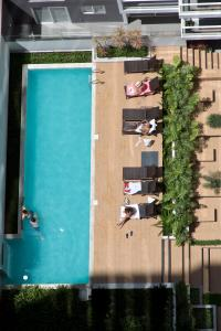 A view of the pool at Urbano Apartments Miraflores Pardo or nearby