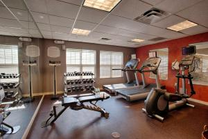 The fitness center and/or fitness facilities at Residence Inn Neptune at Gateway Center