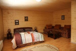 Кровать или кровати в номере Zarinok