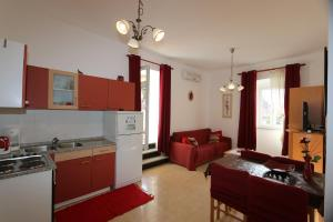 A kitchen or kitchenette at Apartmani Đani