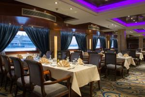 A restaurant or other place to eat at M/S Esmeralda Nile Cruise - 4 or 7 Nights From Luxor each Monday and 03 Nights From Aswan each Friday