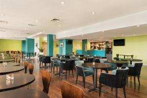 A restaurant or other place to eat at Heeton Concept Hotel - City Centre Liverpool