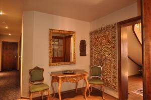 Ein Sitzbereich in der Unterkunft Hotel Schmuckkästchen