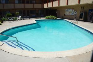 The swimming pool at or near City Center Motel