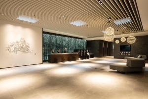 The lobby or reception area at Hotel Vischio Osaka-JR Hotel Group