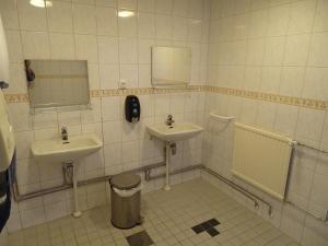 Kylpyhuone majoituspaikassa Lomakeskus Koivukankare