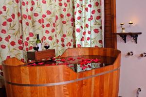 Um banheiro em Pousada Pinhal Alto