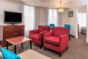 A television and/or entertainment center at Residence Inn Pittsburgh North Shore