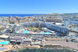 A bird's-eye view of Dolmen Hotel Malta
