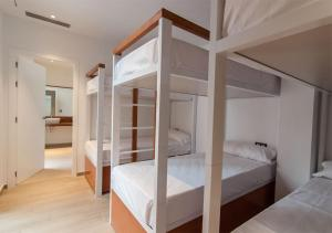 A bunk bed or bunk beds in a room at Youth Hostel Jávea