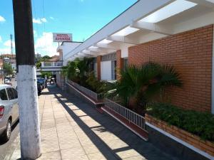 A balcony or terrace at Hotel e Restaurante Avenida