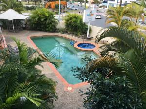 A view of the pool at Broadbeach Private Apt with CHA or nearby