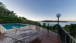 The swimming pool at or near Bay House Whitsundays