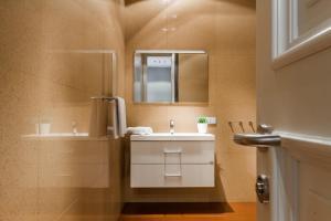 A bathroom at Griboedov Loft Apartments