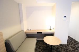 A seating area at M-1 Tokyo Shimomaruko