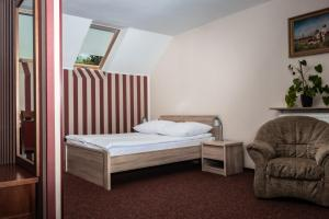 A bed or beds in a room at Prima