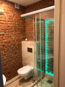 A bathroom at Kamienica Centrum