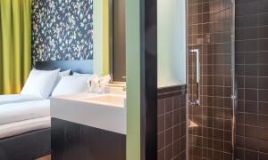 Un baño de Thon Hotel Gyldenløve