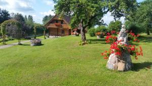 A garden outside Pie Pētera