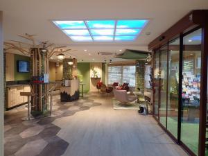 Hall o reception di ibis Styles Annecy Centre Gare
