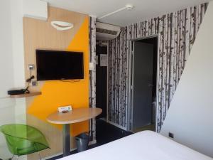 TV o dispositivi per l'intrattenimento presso ibis Styles Annecy Centre Gare