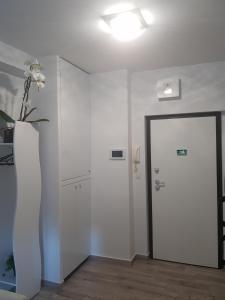 A bathroom at Paula Centar Apartman