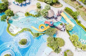 A bird's-eye view of Sofitel Sanya Leeman Resort