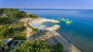 A bird's-eye view of Valamar Pinia Hotel