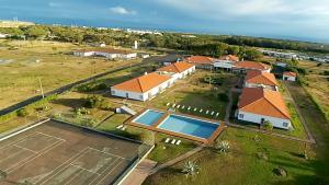 Uma vista aérea de Hotel Santa Maria