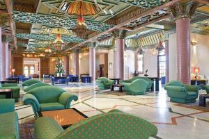 Coin salon dans l'établissement Atlantic Palace Agadir Golf Thalasso & Casino Resort